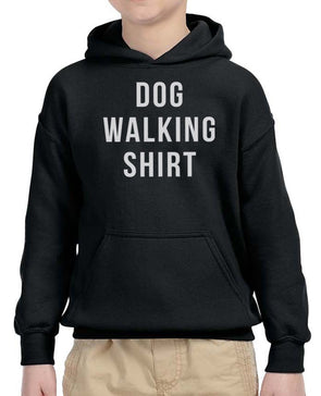 Youth Boys | Dog Walking Shirt | Hoodie