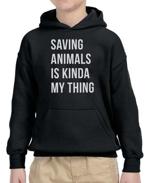 Youth Boys | Saving Animals | Hoodie