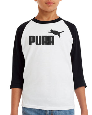 Youth Boys | Purr | Raglan