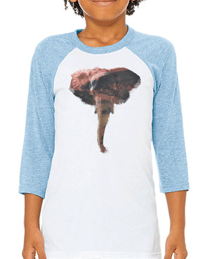 Youth Boys | African Elephant | Raglan