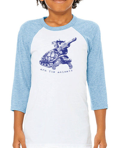 Youth Boys | Turtle Tank | Raglan