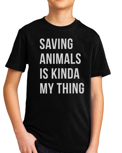 Youth Boys | Saving Animals | Tee