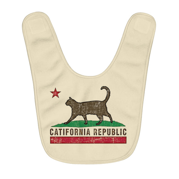 Baby | Catifornia Republic | Fleece Baby Bib