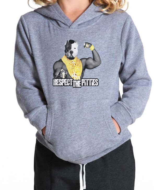 Youth Girls | Respect The Pitties | Hoodie