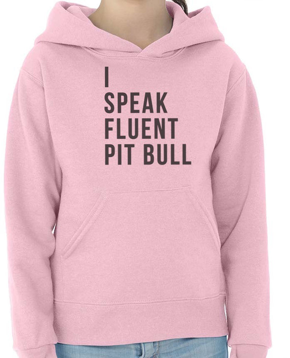 Youth Girls | Fluent Pit Bull | Hoodie