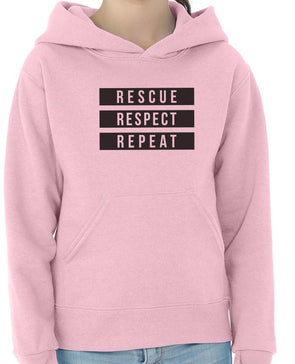 Youth Girls | 3 R's | Hoodie