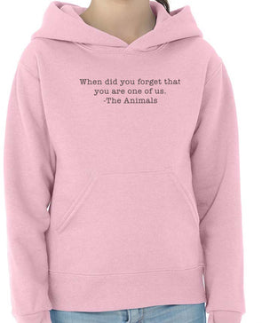 Youth Girls | When Did You Forget | Hoodie