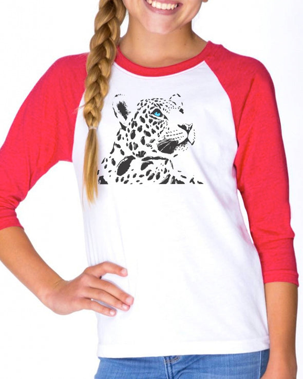 Youth Girls | ATA Grenade Spotted Jagwar | Raglan