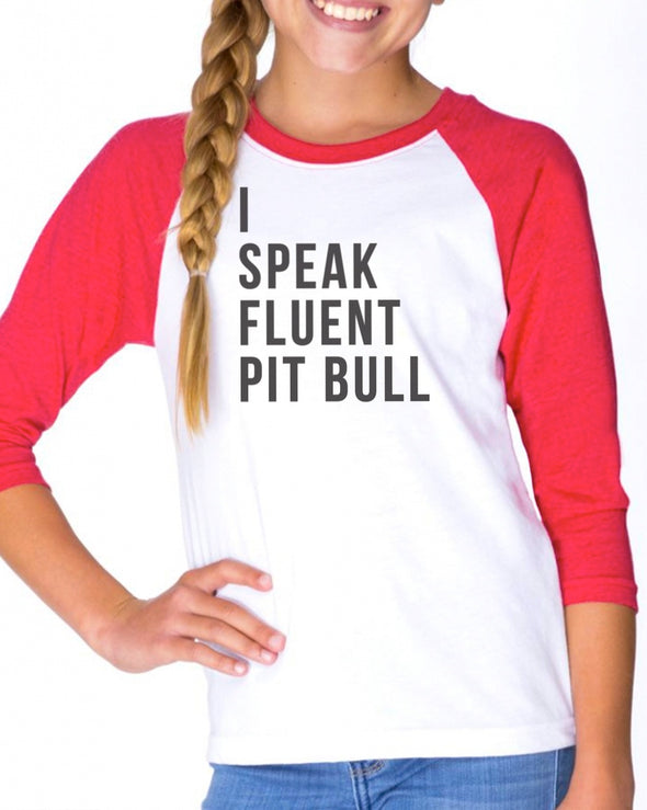 Youth Girls | Fluent Pit Bull | Raglan