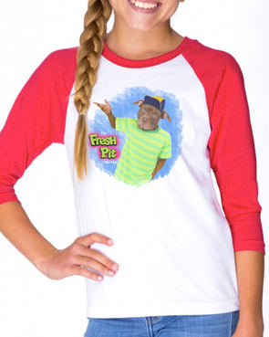 Youth Girls | The Fresh Pitt | Raglan