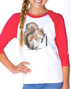 Youth Girls | Nut Chucks | Raglan
