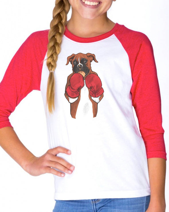 Youth Girls | Junior Boxer | Raglan