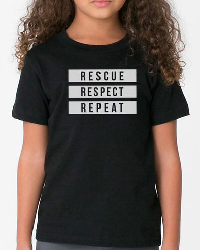 Youth Girls | 3 R's | Tee