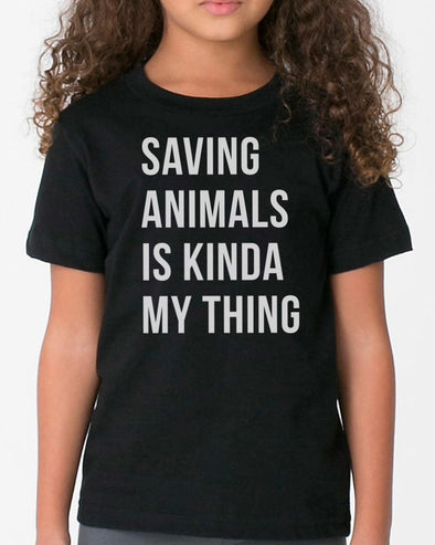 Youth Girls | Saving Animals | Tee