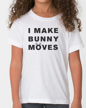Youth Girls | Bunny Moves | Tee