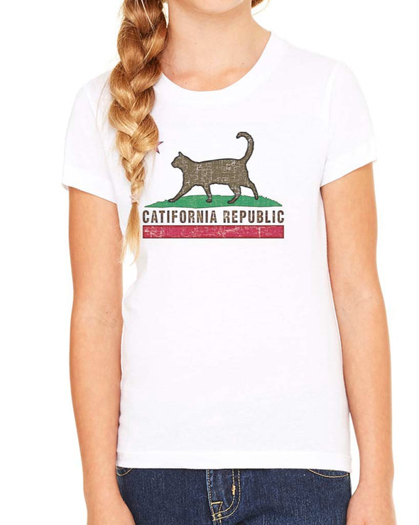 Youth Girls | Catifornia Republic | Tee
