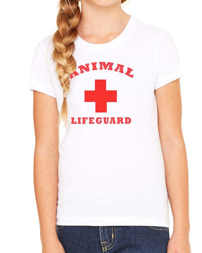 Youth Girls | Animal Lifeguard | Tee