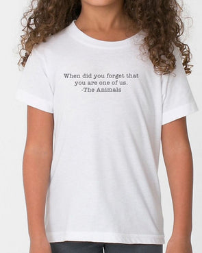 Youth Girls | When Did You Forget | Tee