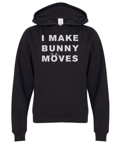 Youth Girls | Bunny Moves | Hoodie