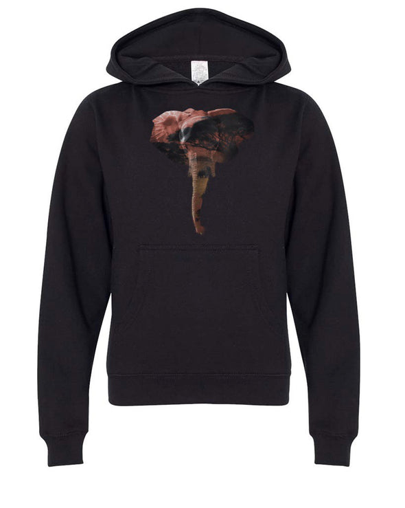 Youth Boys | African Elephant | Hoodie