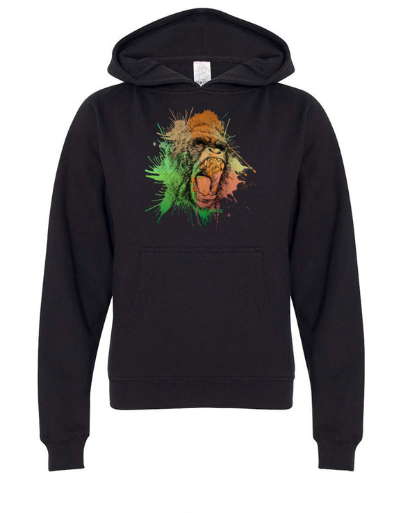 Youth Girls | Gorilla Rage | Hoodie