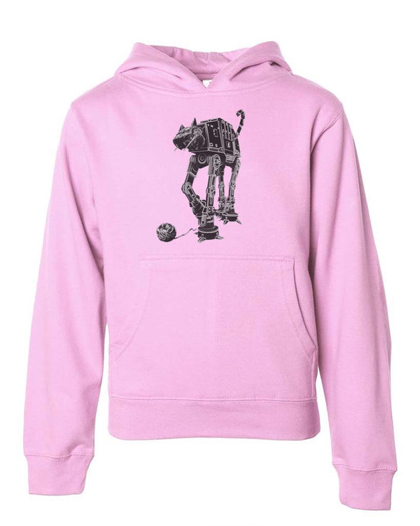 Youth Girls | Cat-At | Hoodie
