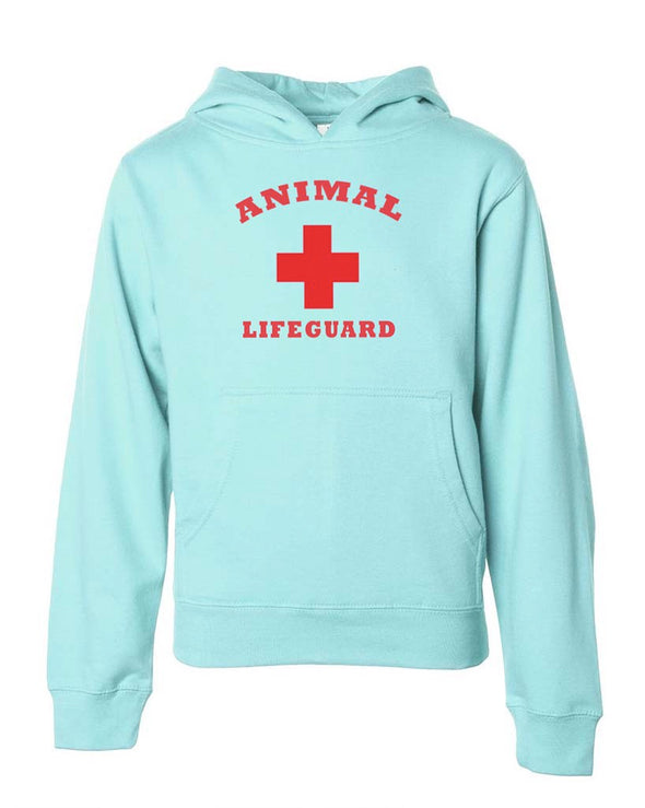 Youth Girls | Animal Lifeguard | Hoodie