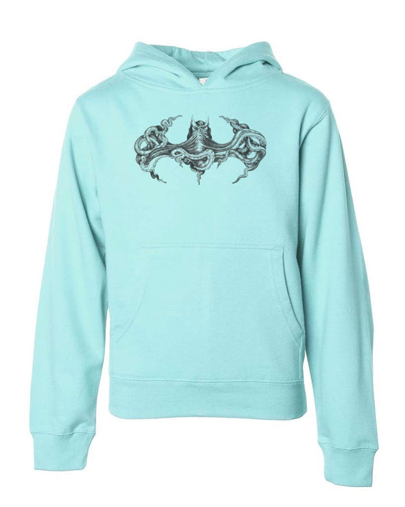 Youth Girls | Octopus Batman | Hoodie