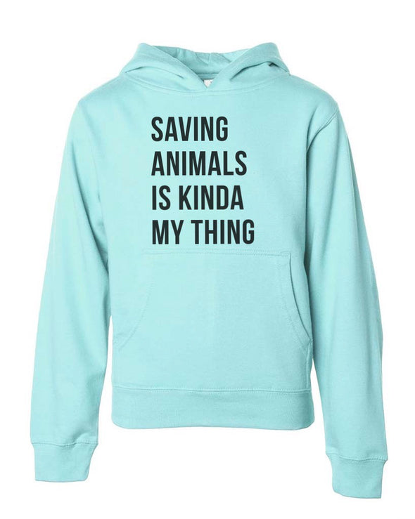 Youth Girls | Saving Animals | Hoodie