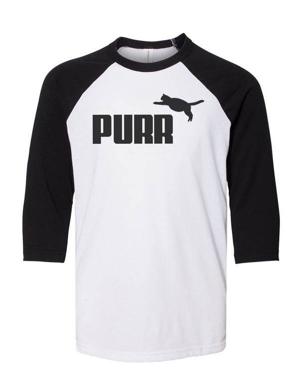 Youth Girls | Purr | Raglan