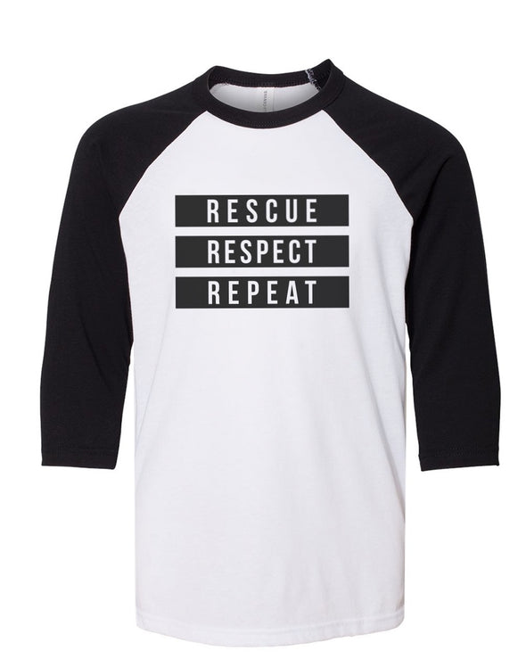 Youth Girls | 3 R's | Raglan