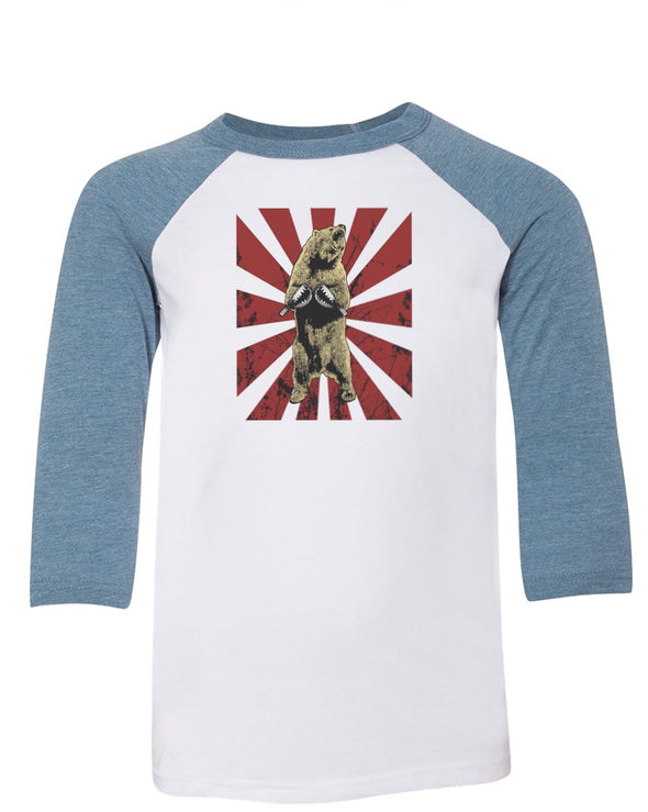 Youth Boys | Bear Traps | Raglan