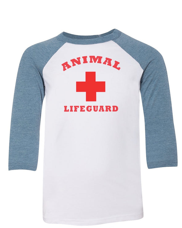 Youth Boys | Animal Lifeguard | Raglan