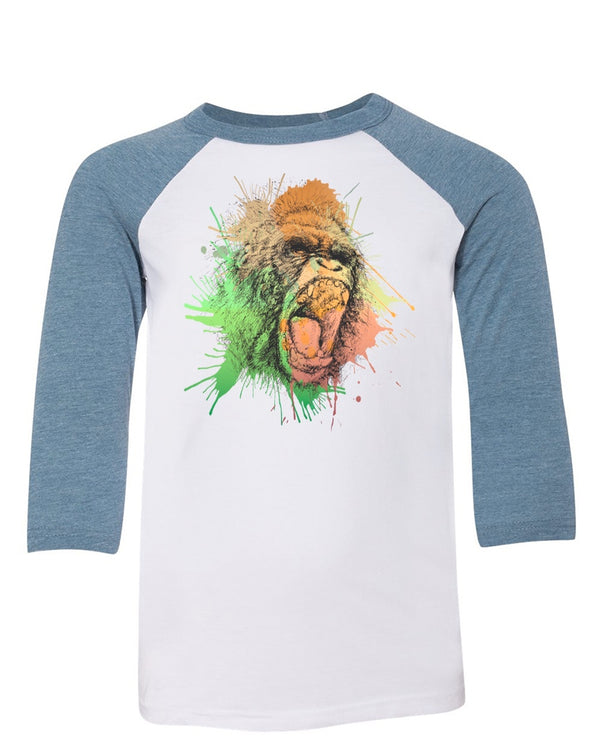 Youth Boys | Gorilla Rage | Raglan
