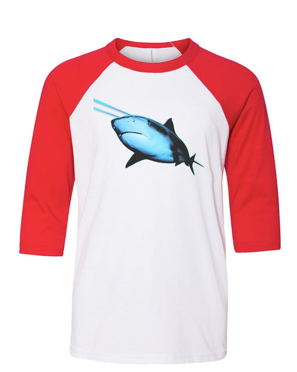 Youth Boys | Laser Eye Shark | Raglan