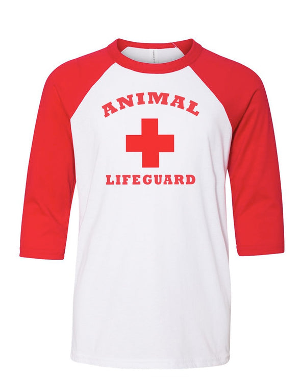 Youth Girls | Animal Lifeguard | Raglan