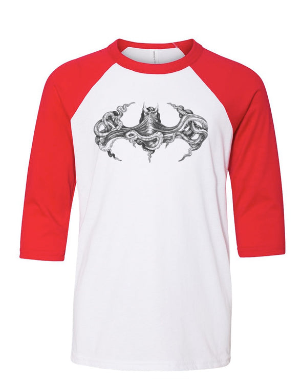 Youth Boys | Octopus Batman | Raglan