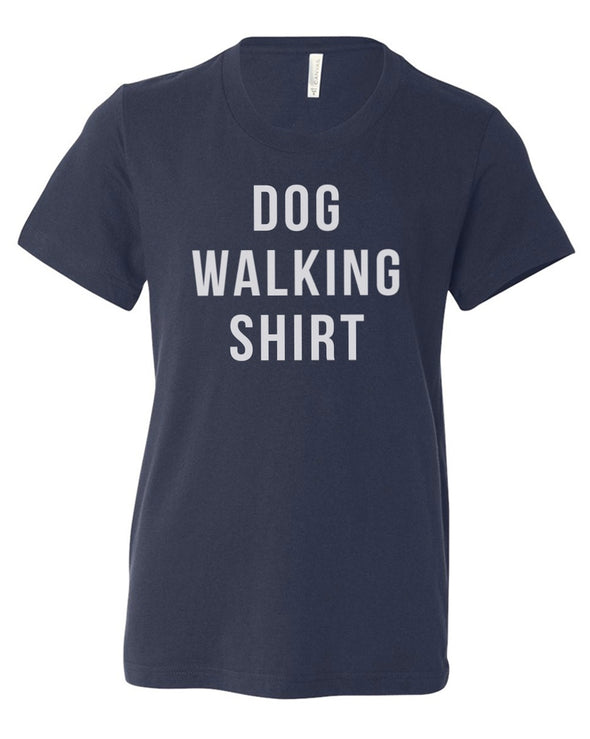 Youth Boys | Dog Walking Shirt | Tee