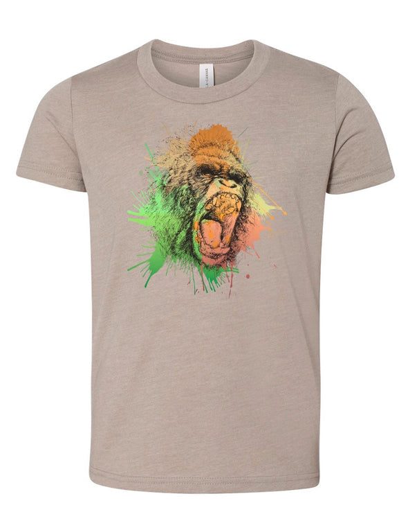 Youth Girls | Gorilla Rage | Tee
