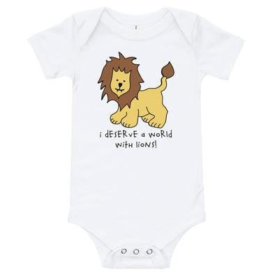 Baby | World With Lions | Onsie