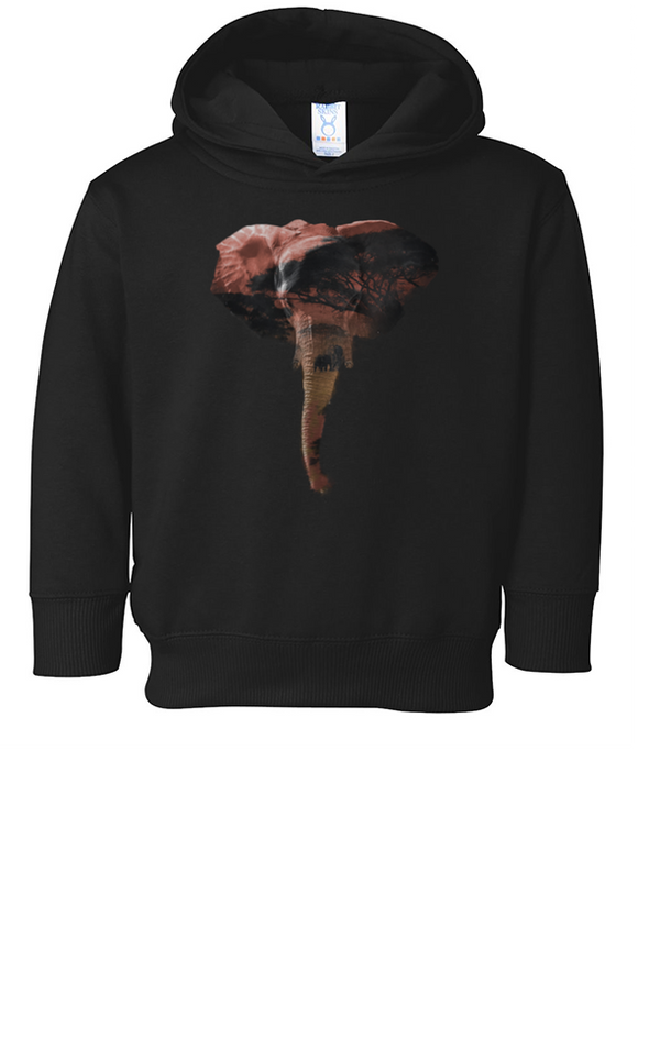 Toddler | African Elephant | Hoodie