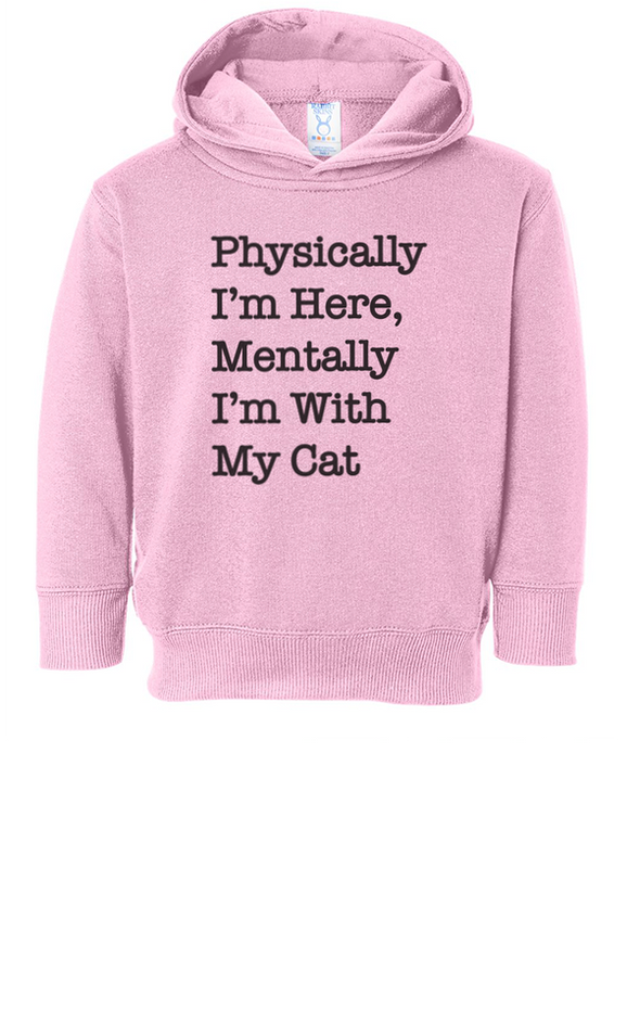 Toddler | With My Cat | Hoodie
