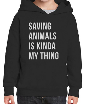 Toddler | Saving Animals | Hoodie