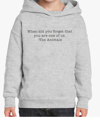 Toddler | When Did You Forget | Hoodie