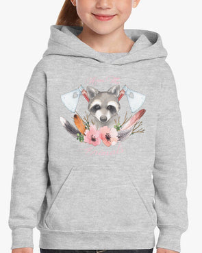 Toddler | Woodland Raccoon | Hoodie