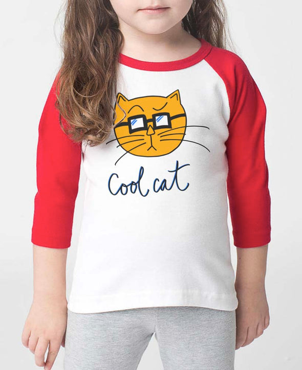 Toddler | Cool Cat | Raglan