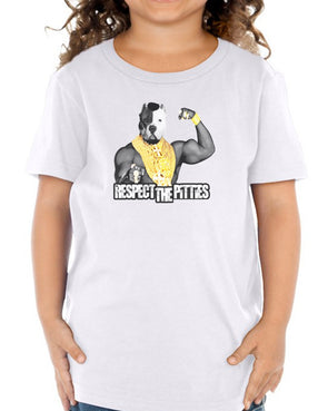 Toddler | Respect The Pitties | Tee