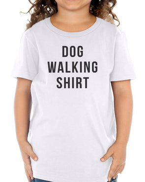 Toddler | Dog Walking Shirt | Tee