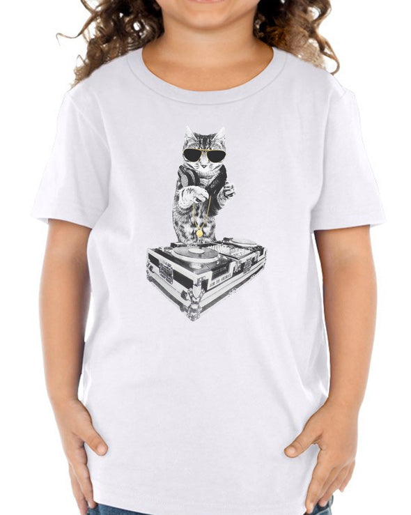 Toddler | Bruce Kittee DJ | Tee
