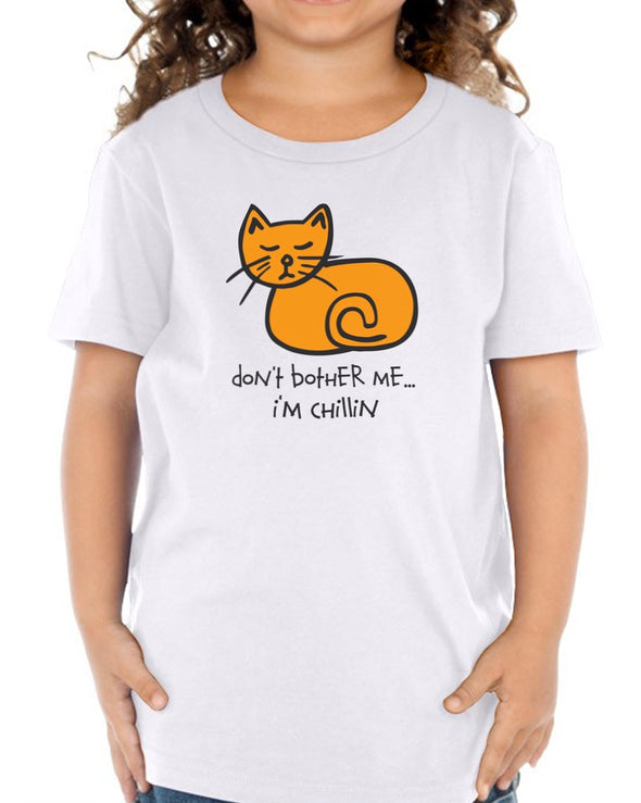 Toddler | Chill Cat| Tee